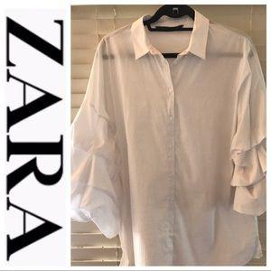 ZARA Women Shirt Size Large